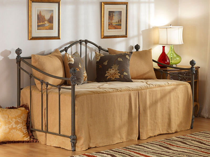 Bedrooms and More Wesley Allen Bennett Day Bed Frame