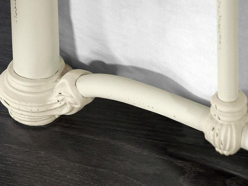 Wesley Allen Birmingham Foot Detail in Cottage White