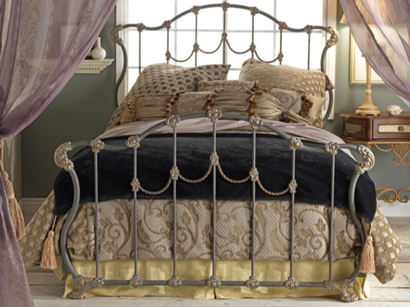 Bedrooms and More Wesley Allen Hamilton Bed