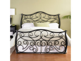 Bedrooms and More Wesley Allen Indus Bed Frame