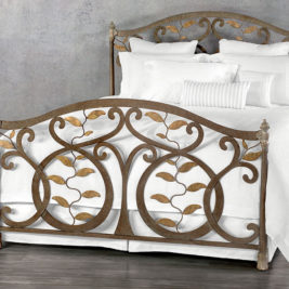 Bedrooms and More Wesley Allen Laurel Bed Frame