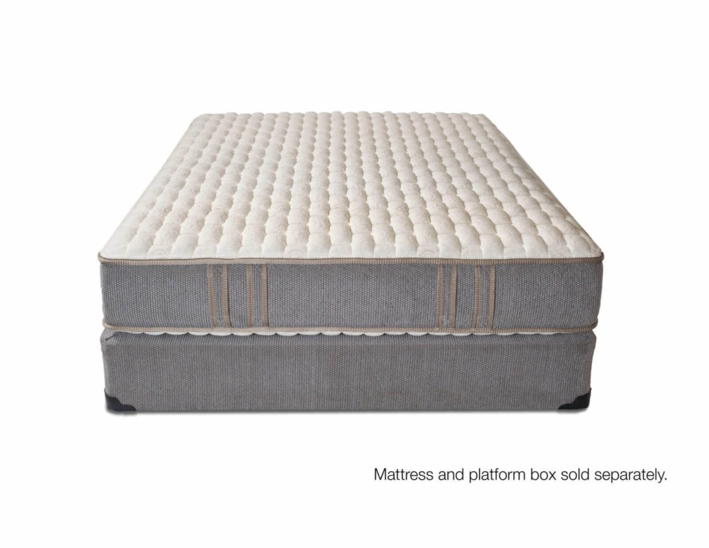 2-Sided luxury firm coil mattress with foam encasement