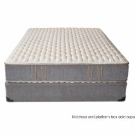 2-Sided luxury firm coil mattress with foam encasement