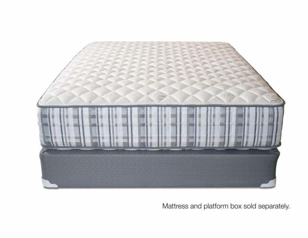 2-Sided zoned pocket coil mattress with foam encasement