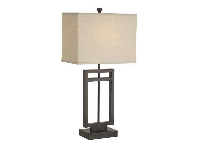 Pacific Coast Lighting Central Loft Table Lamp Bedrooms and More Seattle