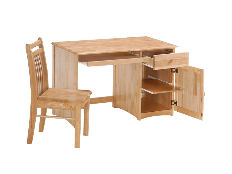 Night & Day Clove Student Desk w/ Chair (Natural)