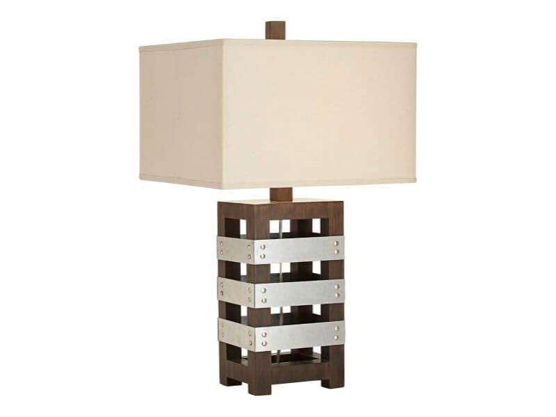 Pacific Coast Lighting Crate Table Lamp Bedrooms and More Seattle