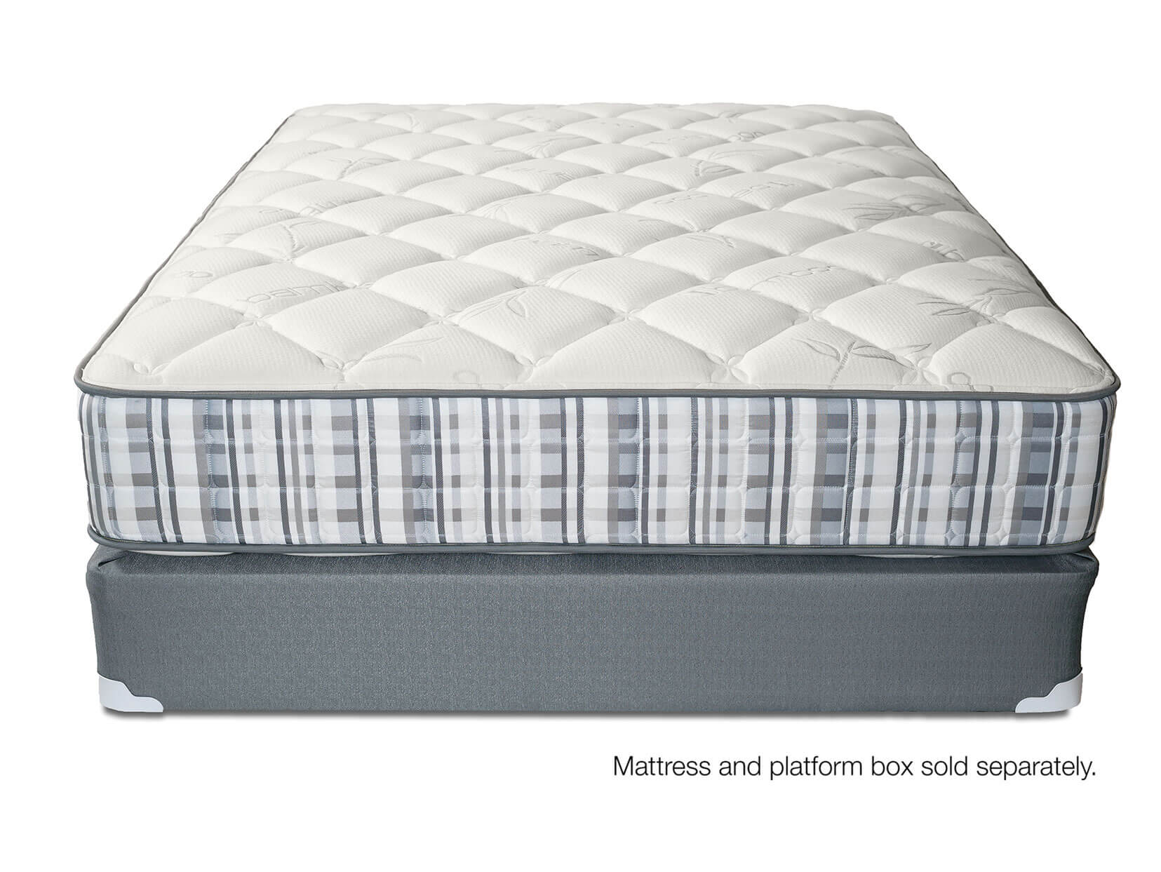 Discovery Plush Innerspring Mattress Front View