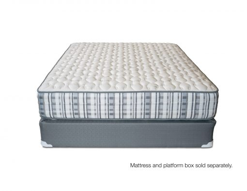 2-Sided zoned pocket coil mattress with foam encasement