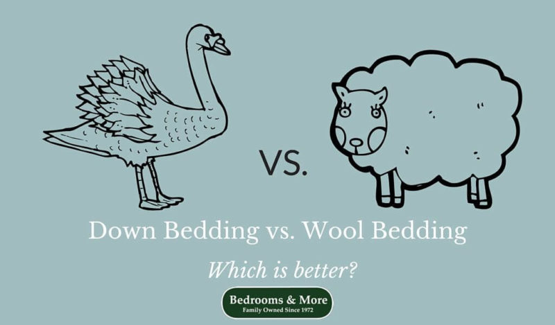 down vs. wool bedding