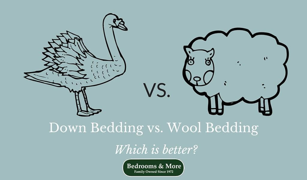 Down vs. Wool Bedding: Which is Better | Bedrooms & More, Seattle