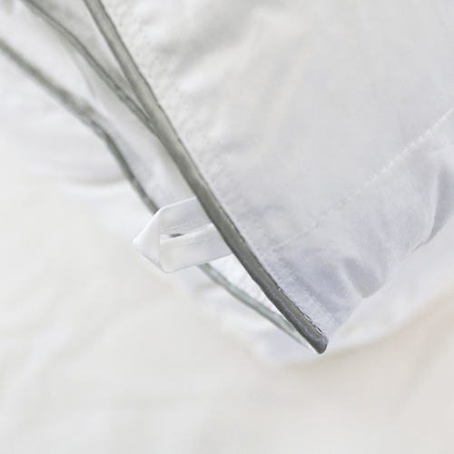 Down Comforter close up