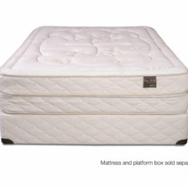 Organic, durable and flippable; key attributes in a premium mattress.