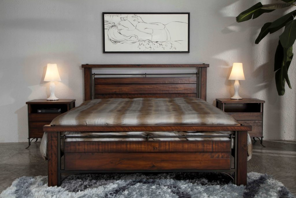 B&M Step Furniture Forge Bed Set