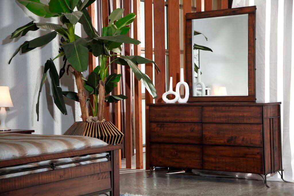 B&M Step Furniture Forge Drawer Dresser