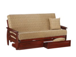 Night & Day Corona Futon (Rosewood)