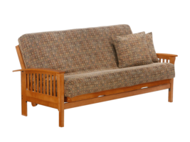 Night & Day Winchester Futon (Honey Oak)