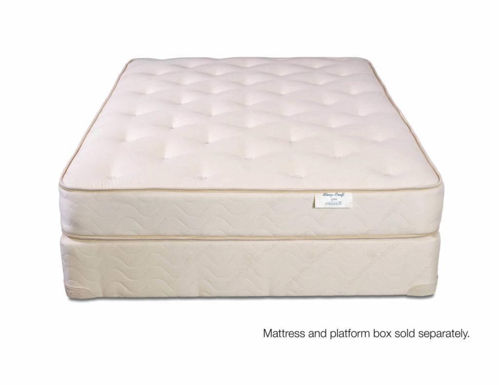 2-Sided All Natural Coil Mattress with no Latex