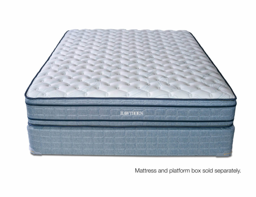 A two-sided firm bed that work well for big people