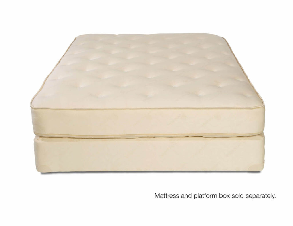 All natural mattress with no foam