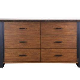 kirana 6-drawer dresser