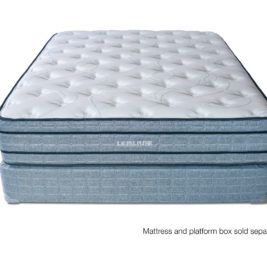 Plush, Flippable Coil Spring Mattress