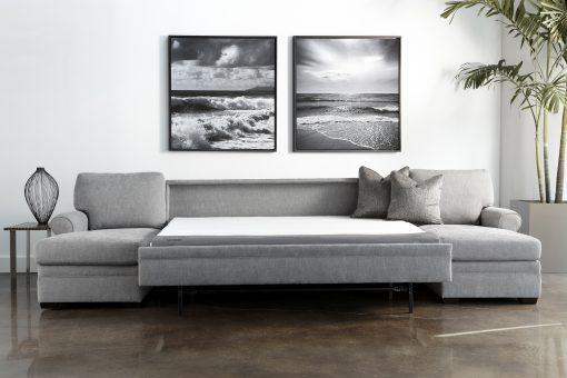 American Leather Gina Comfort Sleeper® Sectional Sofa
