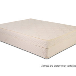 "Zippered 6"" Botanical Latex Mattress with wool"