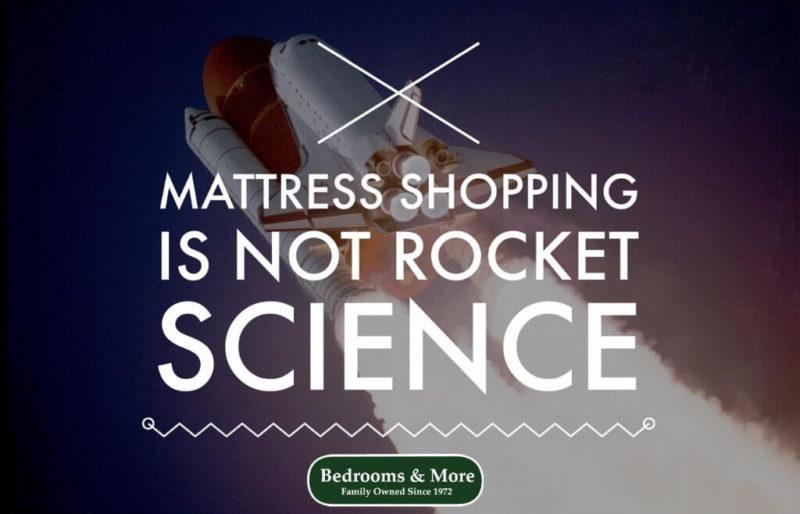 Mattress shopping is not rocket science