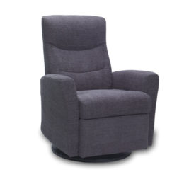 Oslo Recliner w/ Grey fabric