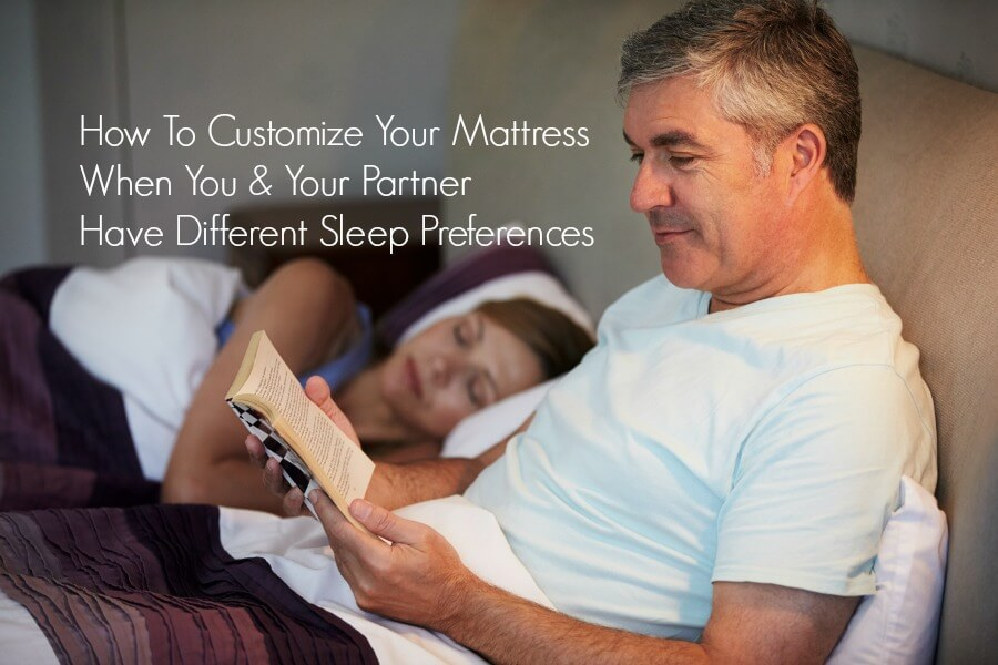 How to Customize a Mattress for Partners who Sleep Differently
