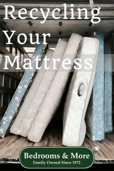 Mattress Recycling is in this Season
