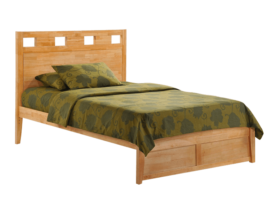 "Night & Day ""K"" Series Bed (Natural)"