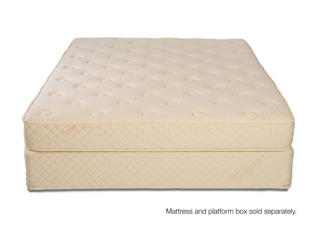 Zippered Cover Natural and Organic Thackeray Latex Mattress