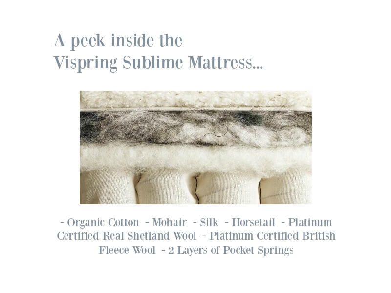 Vispring Sublime Mattress Composition Image