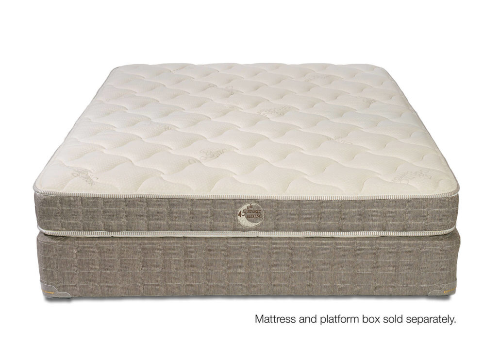 Latex, Wool, Cotton and Comfort in a Mattress.