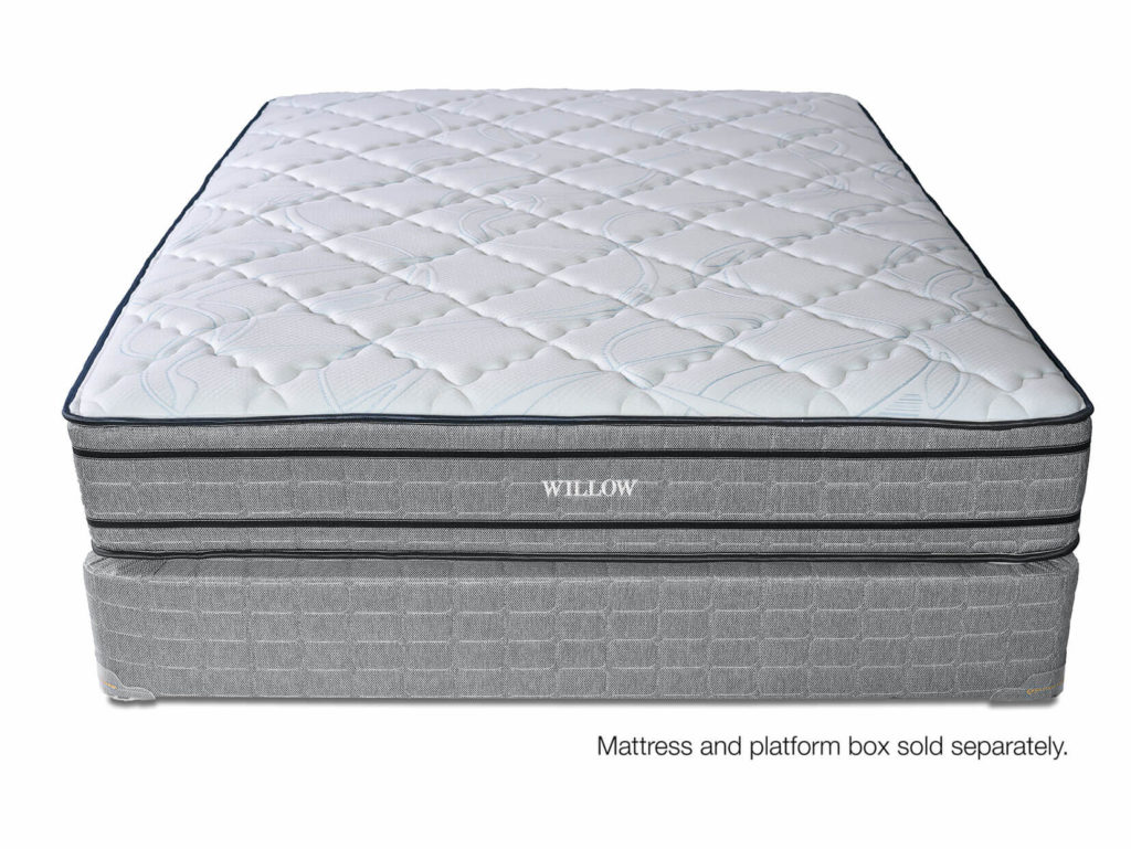 Willow Plush Innerspring Mattress Front