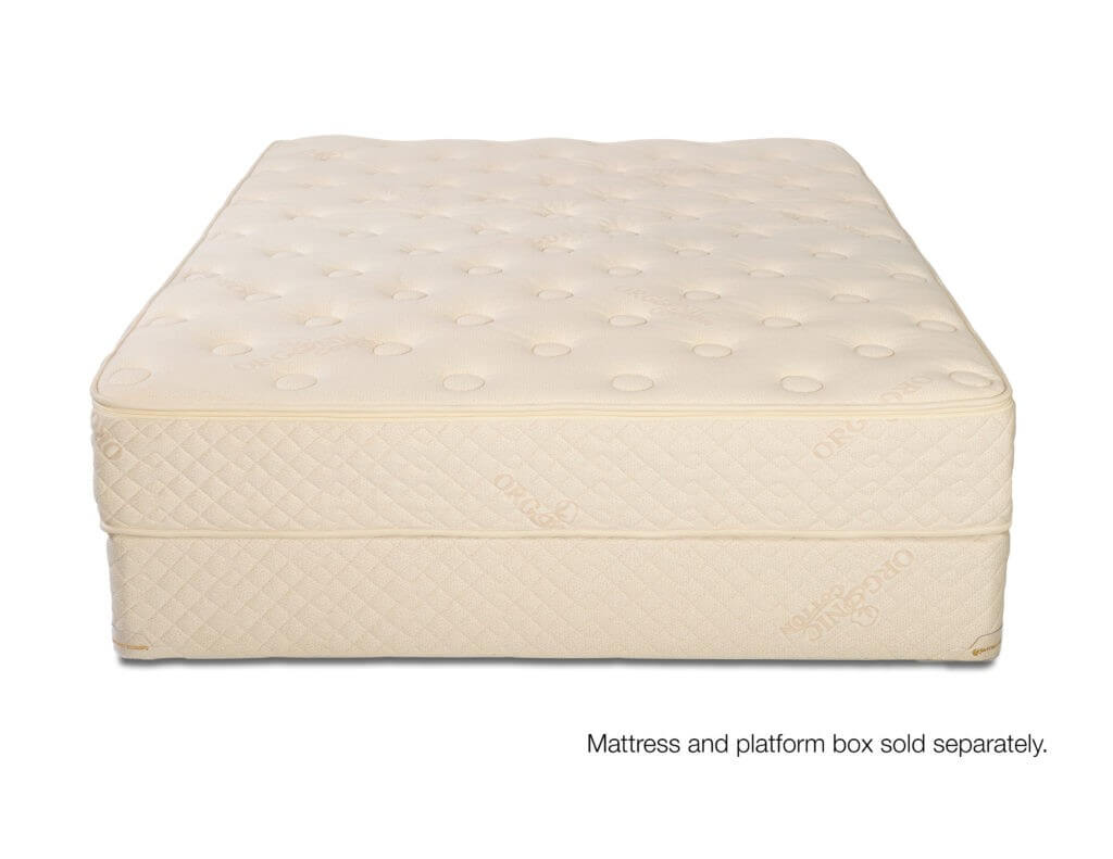 All natural Woodland Park Latex Mattress