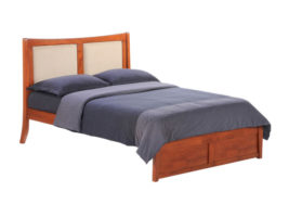 "Night & Day ""K"" Series Chameleon Bed (Cherry)"