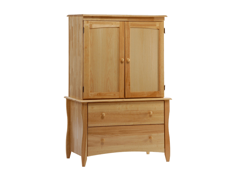 Clove Armoire (Natural)