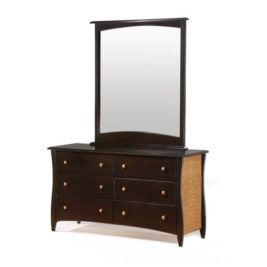 Night & Day Clove Dresser Mirror (chocolate)