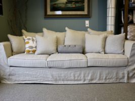 Dunlin Three-Seater Sofa in color Sand