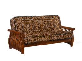 Night & Day Nightfall Futon Frame (Black Walnut)