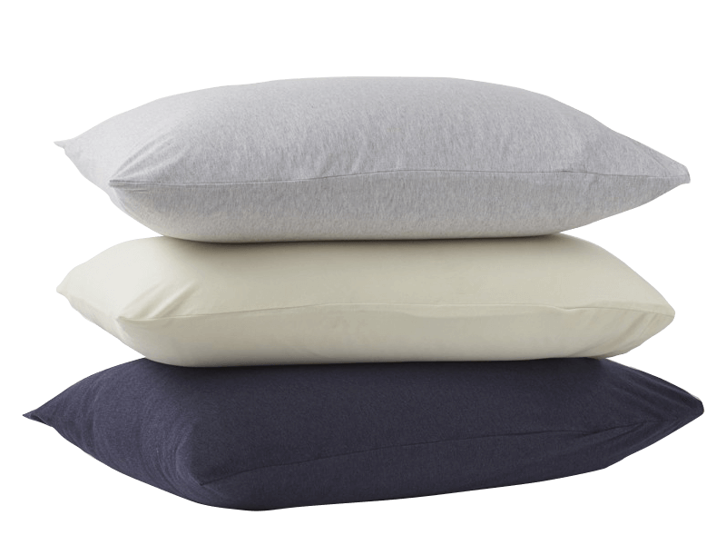 Coyuchi Jersey Pillowcases