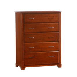 Night & Day Juniper 5 Drawer Chest (Cherry)