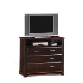 Night & Day Juniper TV Stand (Chocolate)