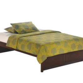 Night and Day K-Series Basic Bed Full Dark Chocolate Bedrooms and More Seattle