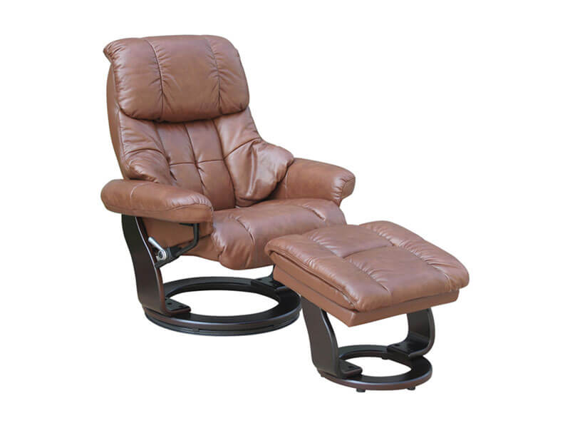 Leather Chair, Benchmaster, ottoman, recliner, seating